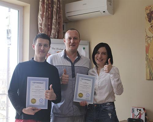 Выпускники курсов массажа в Севастополе
