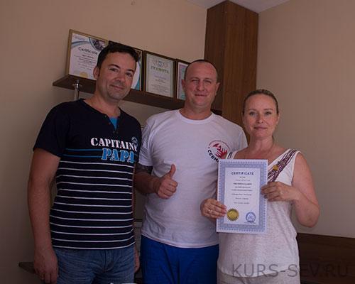 Выпускники курсов массажа в Севастополе 2018.073